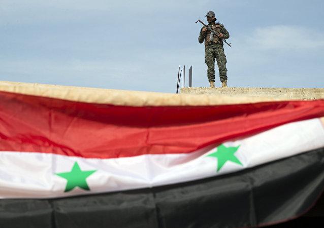 """俄驻叙利亚协调中心得到情报""""胜利阵线""""在阿勒颇省集结军事力量"""