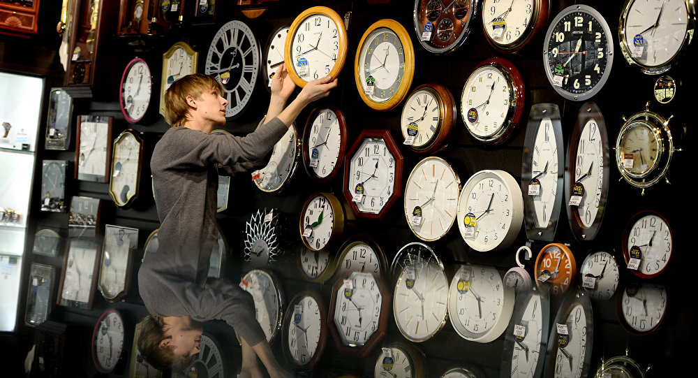 烏里揚諾夫斯克州將把時間調為比莫斯科時間早1小時