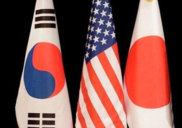 日媒:日美韩副外长磋商显示对华态度存温差