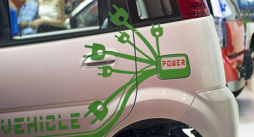 中国新型电动汽车(资料图片)