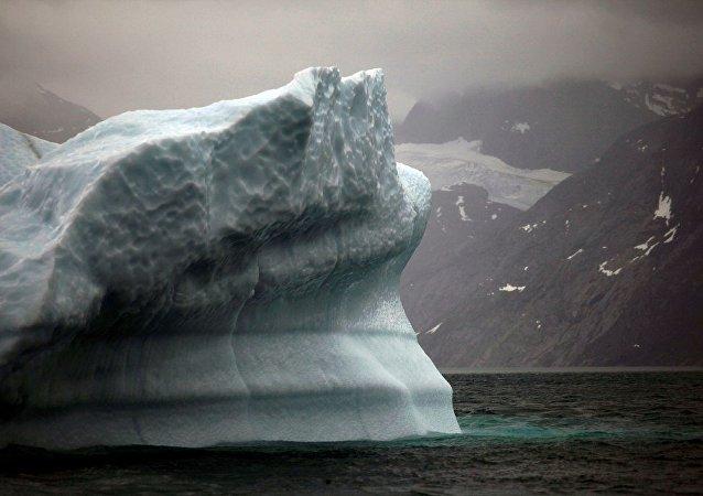 格陵蘭島冰川