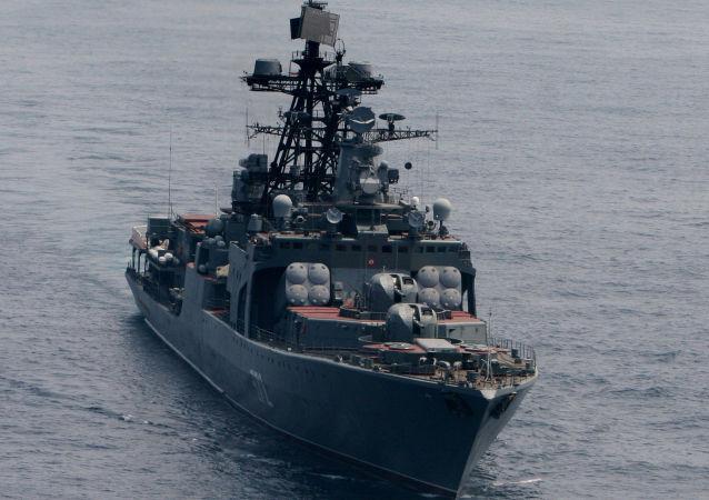 大型「維諾格拉多夫將軍」號反潛艇艦