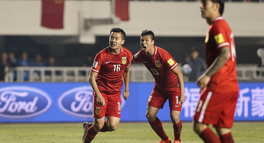 中国足球队