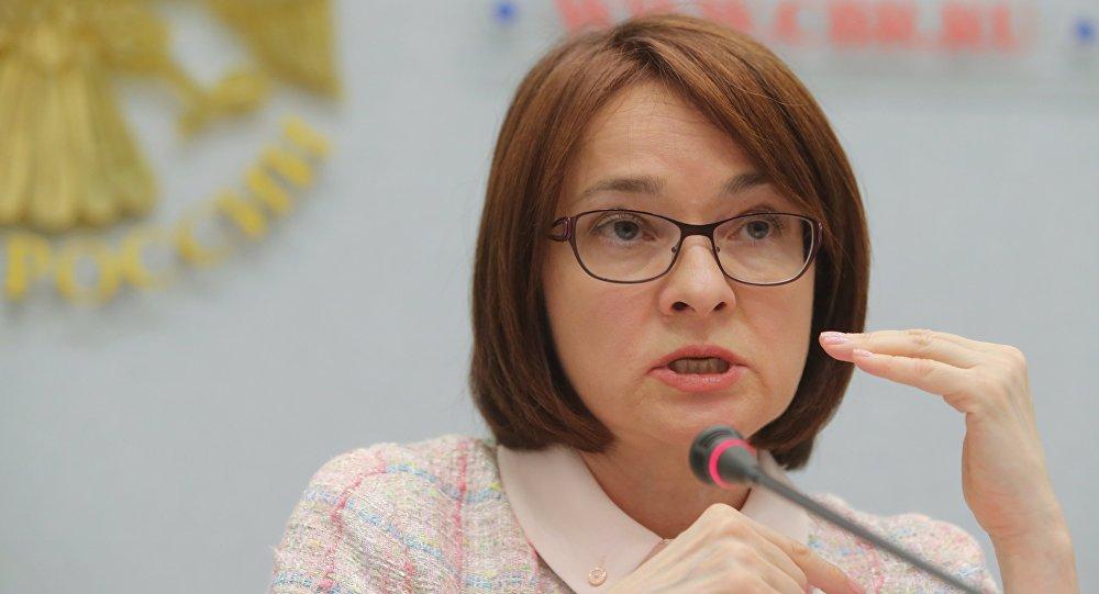 俄罗斯央行行长埃莉维拉·纳比乌琳娜