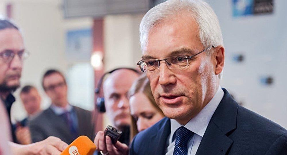 俄副外長:俄與北約的軍事接觸將可以降低軍事意外事件的危險