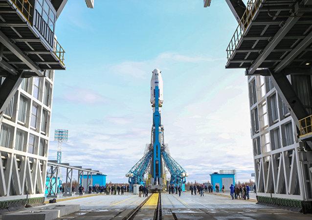 「聯盟-2.1a」運載火箭 (俄東方航天發射場)