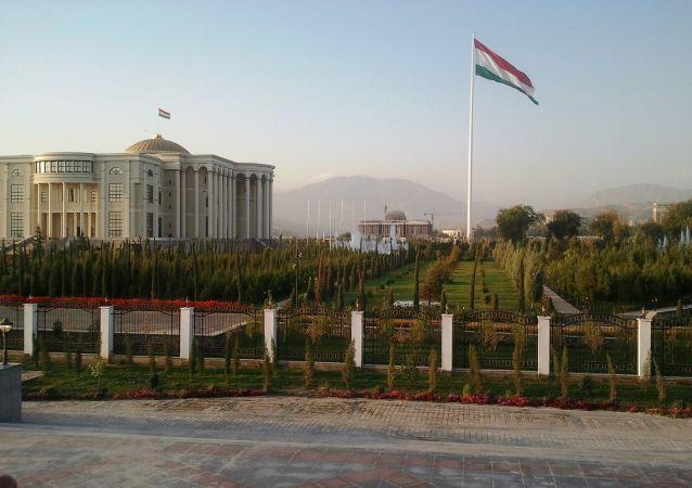 塔吉克斯坦和伊朗首都杜尚别
