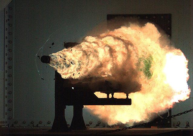 專家:美國電磁軌道炮不太適合於實戰