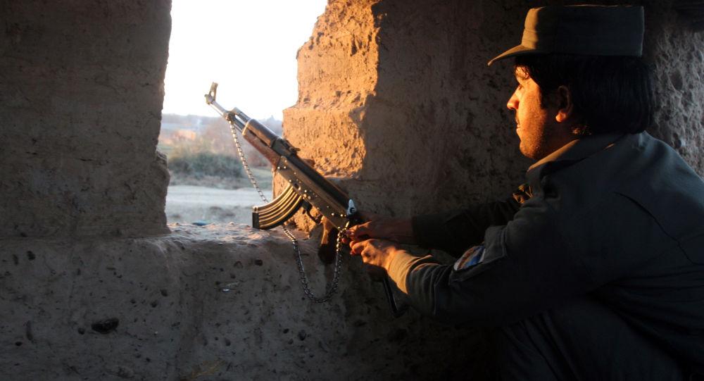 阿富汗邊防警察/資料圖片/