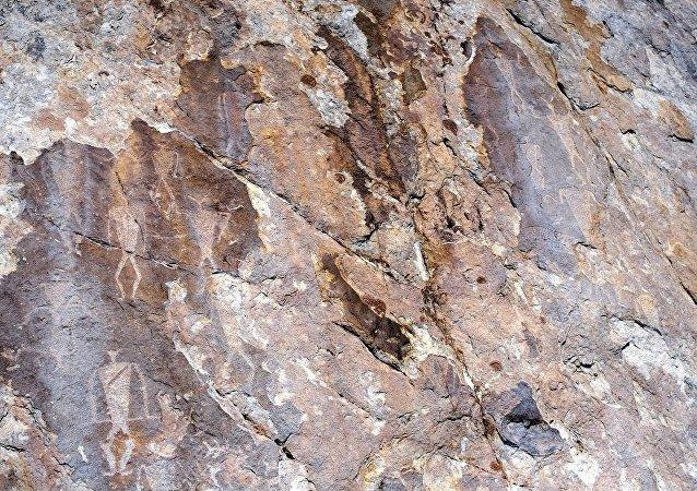 古老的洞穴壁畫