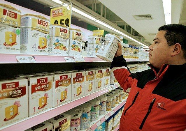 中国山东省政府有意从俄沃洛格达州引进奶制品