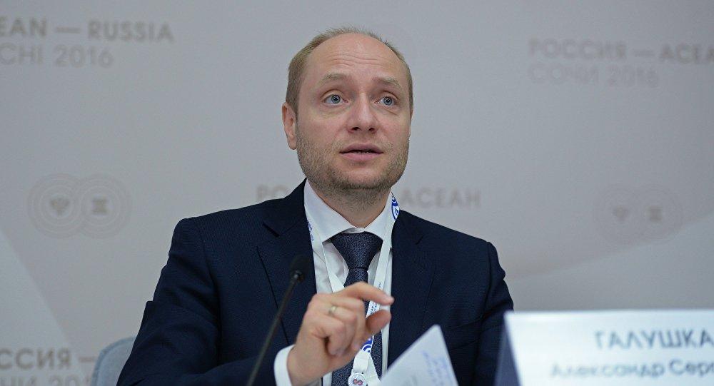 俄羅斯遠東發展部部長亞歷山大·加盧什卡