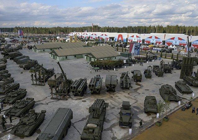 莫斯科州爱国者公园(资料图片)