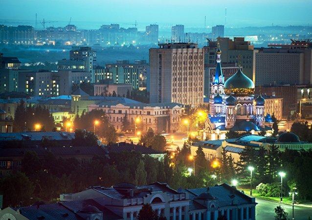 俄罗斯西伯利亚鄂木斯克市