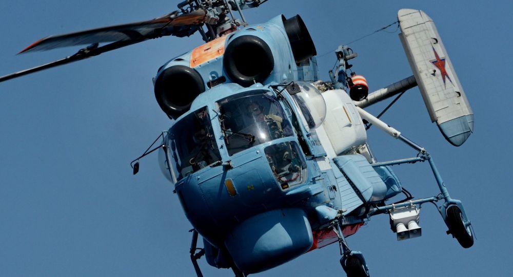 在勘察加坠毁的卡-27直升机属于俄安全局边防分局航空支队