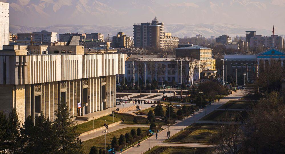 吉尔吉斯斯坦首都比什凯克