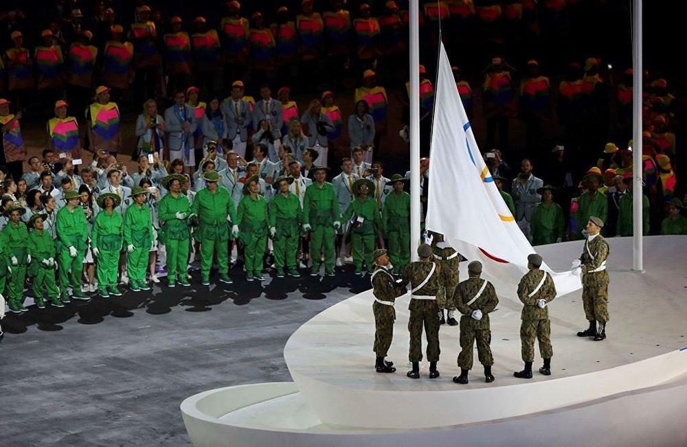 年里约热内卢奥运会开幕式