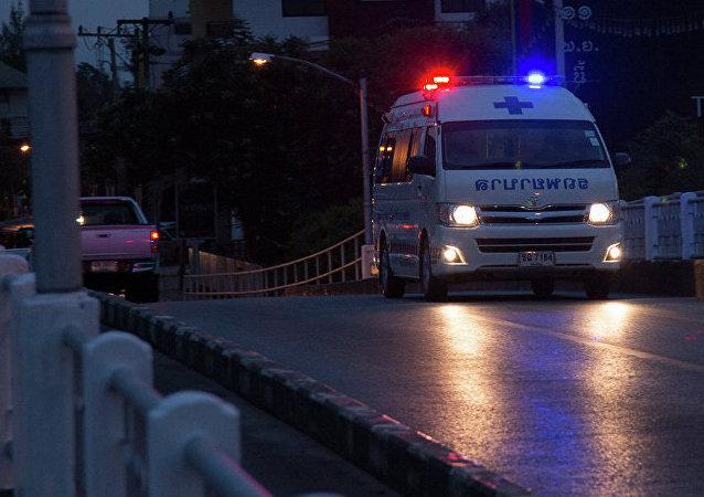 泰國北欖府一化工廠發生爆炸 已致20多人受傷