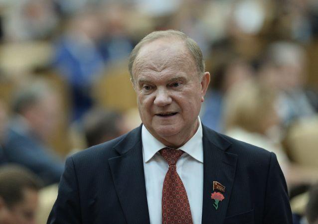 俄罗斯联邦共产党领导人久加诺夫