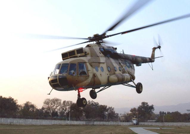 媒体:四人在巴基斯坦军用直升机坠毁中丧生