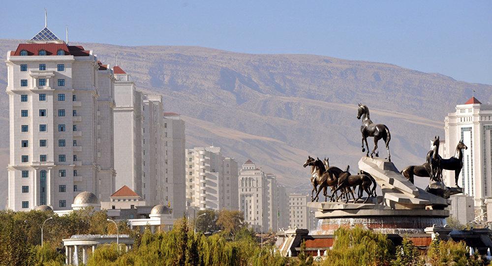 土库曼斯坦首都阿什哈巴德