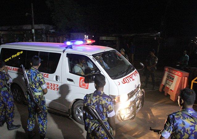 孟加拉国工厂火灾