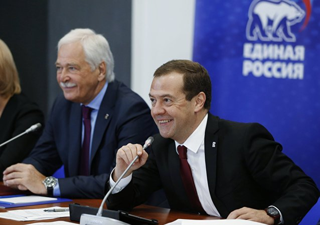 俄总理:俄政府是政党政府将依照统俄党的纲领工作
