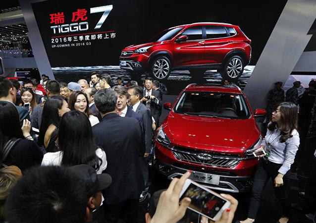 奇瑞汽車考慮提高在俄汽車銷售計劃