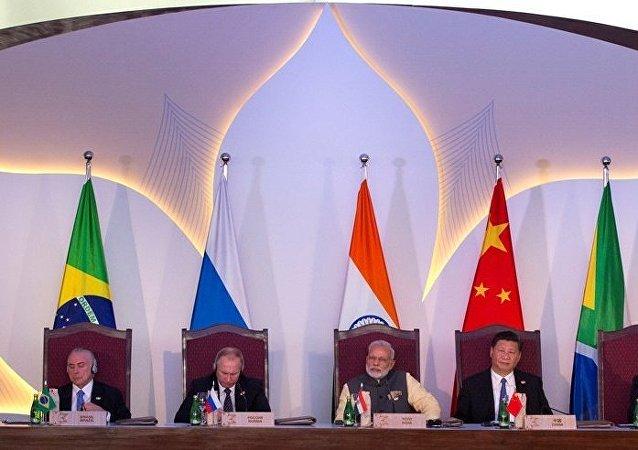 印度執政黨總書記呼籲金磚國家共同打擊恐怖主義