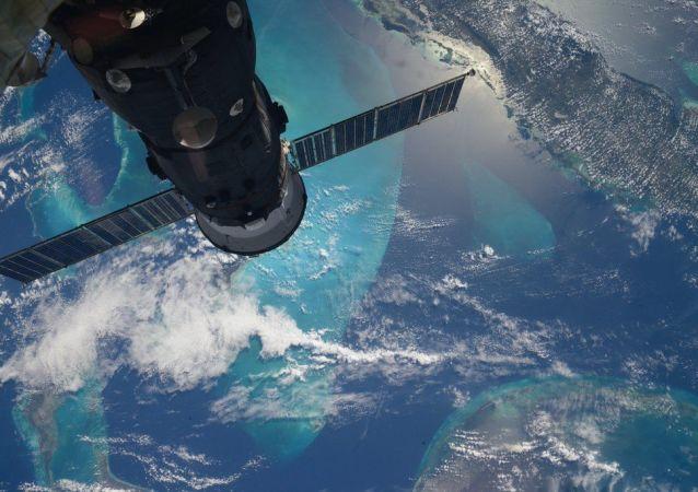 從國際空間站俄羅斯宇航員謝爾蓋·沃爾科夫拍攝的地球照片