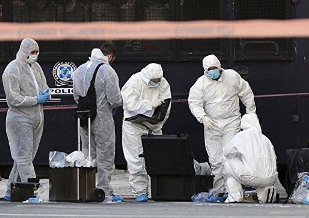 媒體:不明身份者向法國駐雅典大使館投擲一枚手榴彈 一名警察受傷