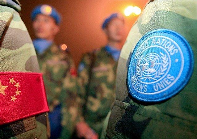"""中国军队首次组织的""""共同命运-2021""""国际维和实兵演习结束"""