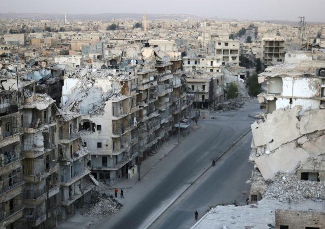 俄军总参谋部:叙政府军3天来解放阿勒颇东部16个街区