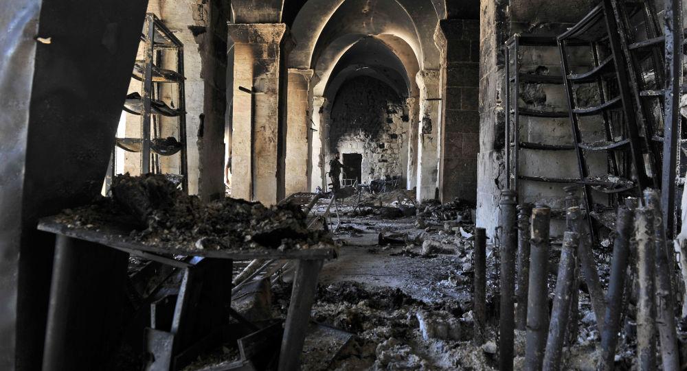 联合国教科文组织认为叙利亚阿勒颇古城区可被复原