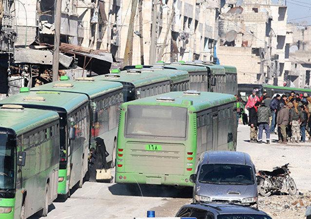 撤出阿勒颇的疏散工作严格按照国际法标准进行