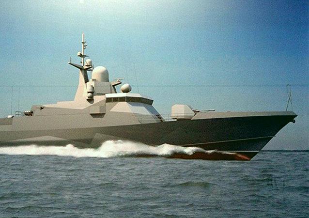 22800型導彈艦的設計圖
