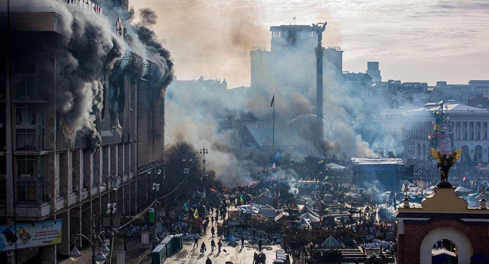 基辅,2014年
