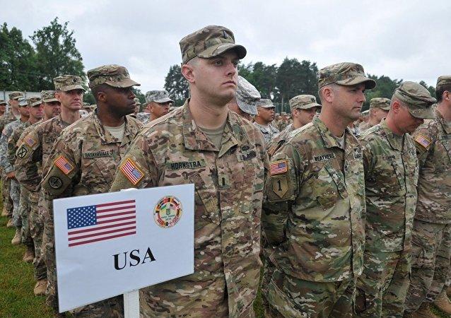 美國軍人在烏克蘭