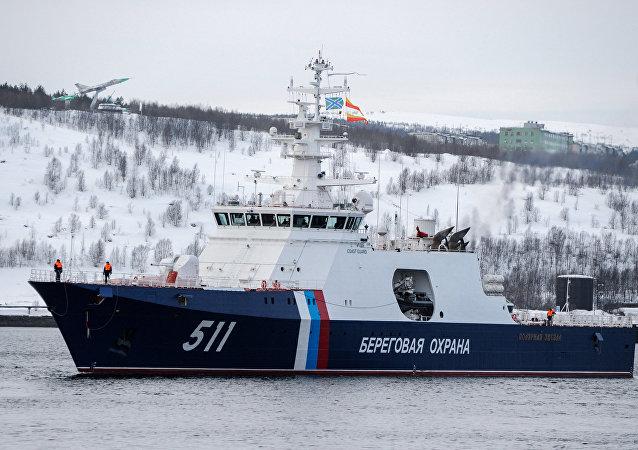 俄巡逻舰,北极