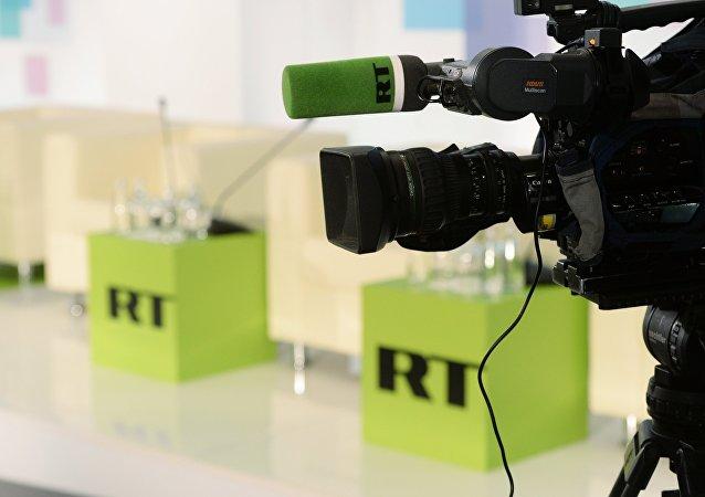 RT阿拉伯語頻道負責人向遇難特約外記者家屬表示慰問