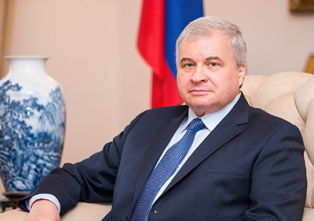 俄罗斯驻中国特命全权大使杰尼索夫