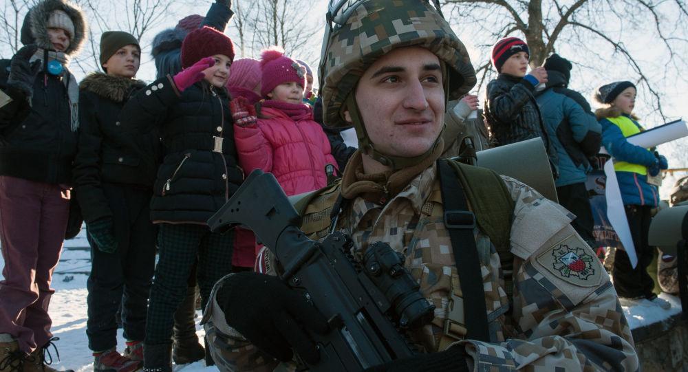 拉托维亚军人