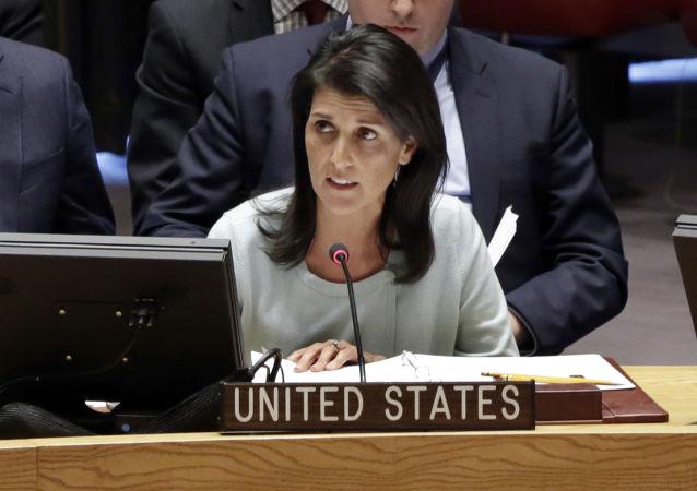 媒体:美国驻联合国大使黑莉可能取代蒂勒森成为国务卿