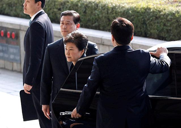 拖欠巨額罰款 韓國檢方扣押樸槿惠私宅