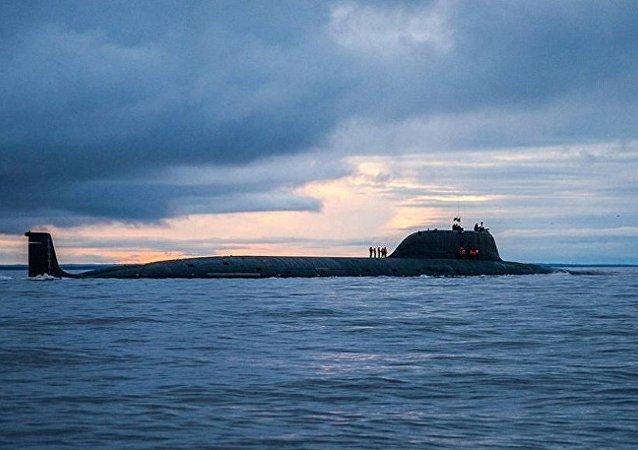 俄羅斯「亞森-M」級核潛艇首艇「喀山」號下水