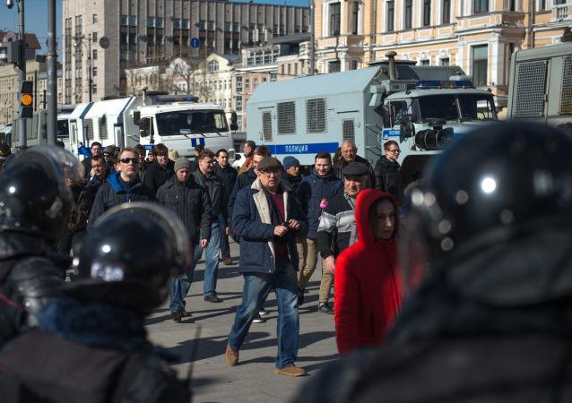 莫斯科抗议活动