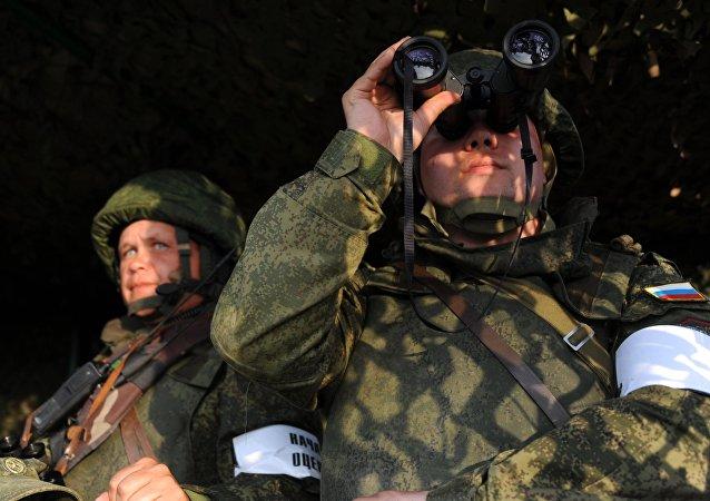 """俄蒙""""色楞格-2021""""军演的积极阶段在蒙古国结束"""