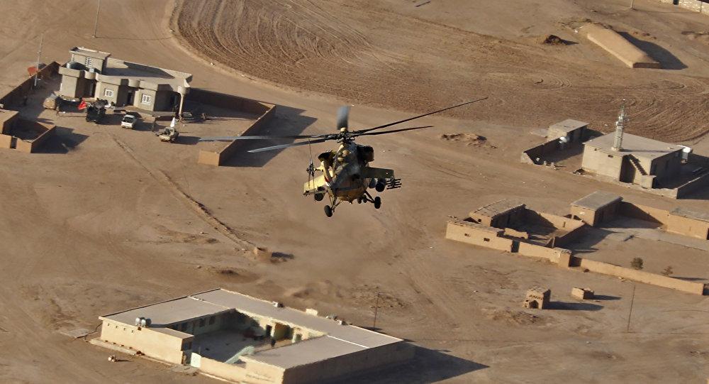 媒體:一架直升機在伊拉克東北部墜毀 5名機組人員全部死亡