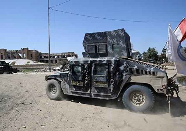 """伊拉克警方宣布消灭一名可能是俄罗斯人的""""伊斯兰国""""头目"""