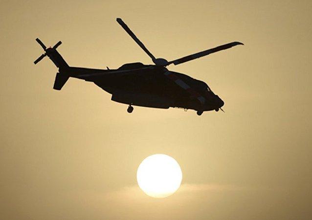 媒體:吉爾吉斯斯坦空防軍一架直升機在吉塔邊境墜機